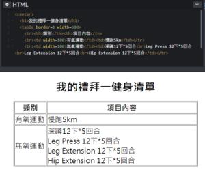 HTML5教學網路行銷必知2-怎麼利用HTML製作表格?