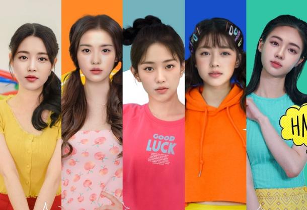 偶像輸出國南韓這次打造了全員AI的人工智慧女子偶像團體?!